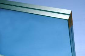 Ocean Bule Laminated Glass